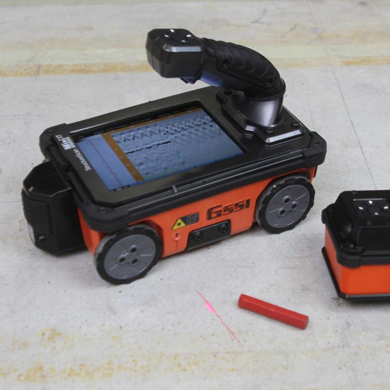 Geo-Radar: GSSI StructureScan Mini XT