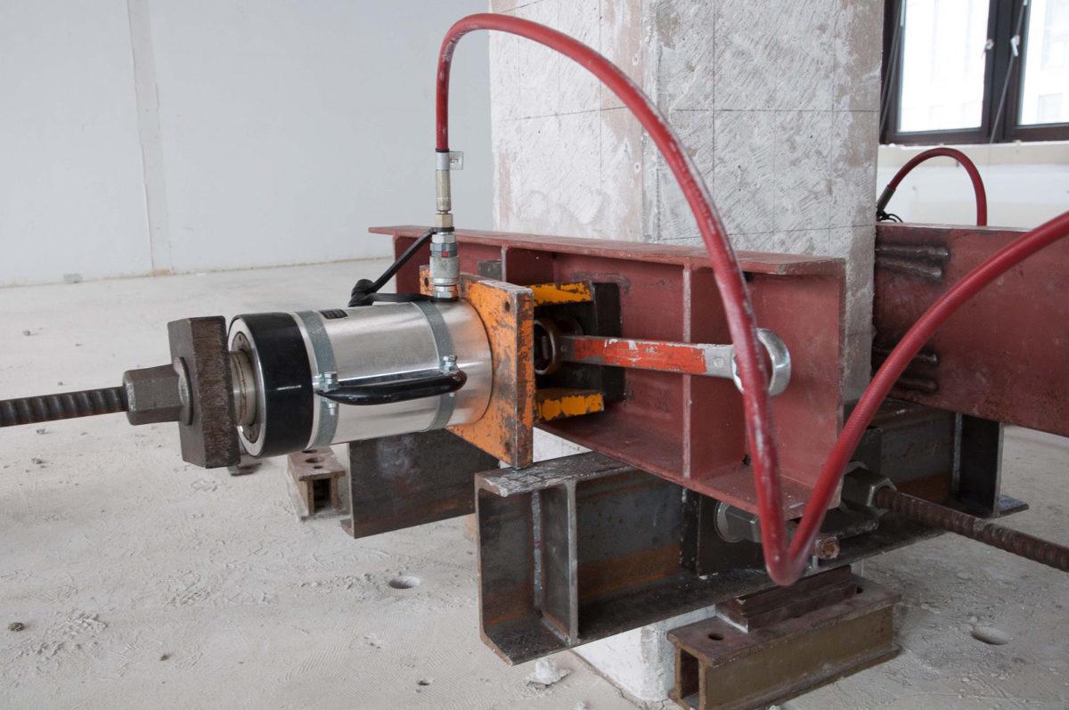 Vorspanneinrichtung Tragsicherheitsbewertung Stahlbetonstützen