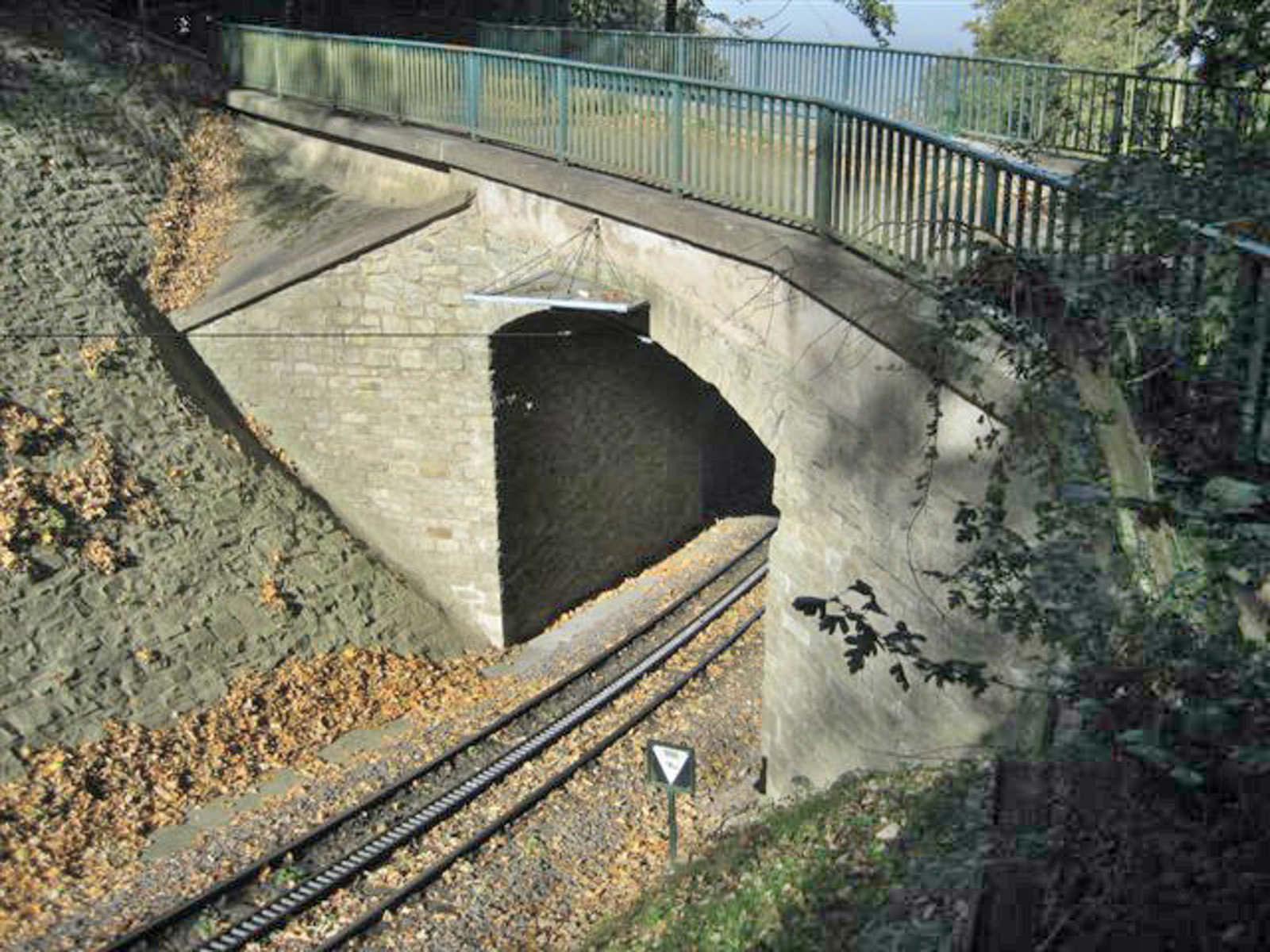 Tragsicherheitsbewertung einer Natursteinbogenbrücke